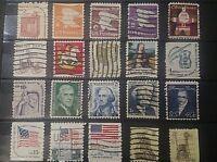 Lot de 20 Timbres USA  / Stamps / Briefmarken Etats unis A2 cote