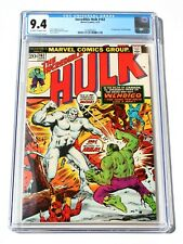 CGC 9.4 THE INCREDIBLE HULK #162 * 1st Wendigo X-Men Villain * 1973 Marvel Comic