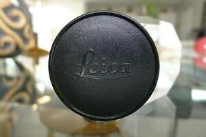 "Leica Leitz IVZOO ""Brass & Chrome"" Black Body Cap for Leica M SLR Body RARE"