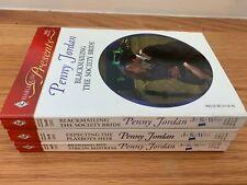 Penny Jordan Jet Set Wives Trilogy Series Complete Set 1-3 Romance