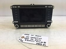 06-10 Volkswagen PASSAT Navigation the screen have crack  OEM