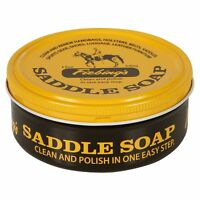Fiebing's Yellow Saddle Soap Cleans & Lubricate Leather Made in USA