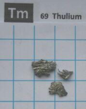 1 gram Thulium Metal 99,9% pure element 69 sample