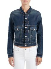 Strom Hug Falcon Fitted Jean Jacket - Steel, Size Small $286