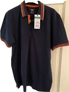 Mens Next Regular Fit Polo Shirt - Size Large BNWT