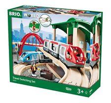 BRIO Travel Switching Set - Wooden Train Set