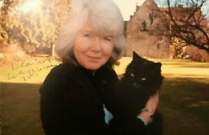Jilly Cooper CBE,  Hand signed autographed photograph with COA