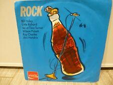 ROCK JIMI HENDRIX BILL HALLEY ETC....PUB COCA COLA ECHANTILLON HORS COMMERCE