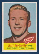 BILL McNEILL RC 57-58 TOPPS 1957-58 NO 44 EX+  4981