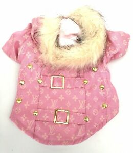 SMALL dog winter coat jacket clothes soft warm fleece For SMALL BREEDS ONLY