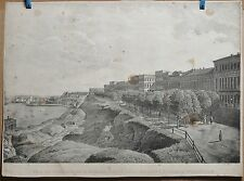 c.1830 Two Scarce Views of Odessa from Comte Vorontsov Palace Russian Empire 2st