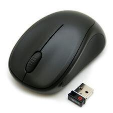 Logitech M317 Wireless Mouse - BLACK w/unifying receiver PC Mac