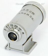 CANON 13.5cm Finder for LEICA Canon NIKON Contax REID 135mm Rangefinder Lenses