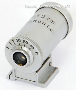 CANON 13.5cm Finder for LEICA Canon NIKON Contax REID 135mm Rangefinder Lenses