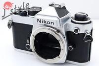 [EXC] Nikon FE Silver Body 35mm SLR Film Camera