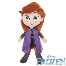 Anna Frozen 2 Official Disney Classic 10 Inch Plushie Soft Toy