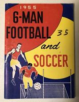Vintage 1955 Official Six Man Football and Soccer Rules Handbook ~ High School