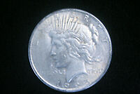 1925 Peace Silver Dollar $ , AU About Uncirculated , US Coin,