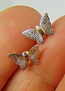 Sweet 9ct Gold Butterfly Earrings