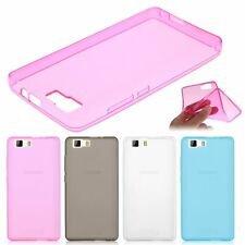 Transparent Soft TPU Gel Silicone Case Cover Skin For Doogee X5/X5 Max/X6/T6 Pro