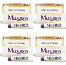 4- Mederma Scar Cream + SPF 30 0.7oz Old New Scars Injury Surgery Burns Acne