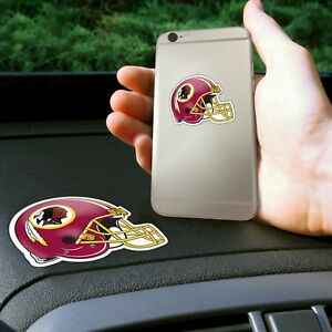 Fanmats NFL Washington Redskins Get a Grip Cell Phone Thick Polymer Stickers