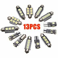 13pcs White Car Interior LED Light Bulb Kit For VW Golf 6 MK6 GTI 2010 - dg