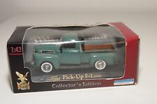 . ROAD SIGNATURE FORD PICK UP PICK-UP F-1 1948 GREEN MINT BOXED