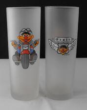 Rare Sesame Street Ernie Longdrinkglass Motor Harley Davidson 1999 Germany Mint