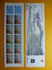LOT 11019 TIMBRES STAMP CARNET CROIX ROUGE FRANCE ANNEE 1991