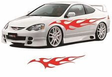 """Flame Auto Graphic decal large 12""""x 48"""" flaming body car truck vinyl flames v100"""