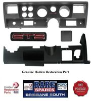 HOLDEN HJ HX HZ WB GTS DASH FACIA SURROUND & LOWER DASH PANEL