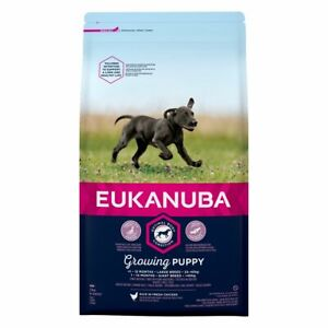 Eukanuba Growing Puppy Large Breed Dry Dog Food Chicken - 12kg