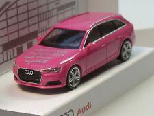 Herpa Audi A4 Avant, pink, 22. Börse Ingolstadt 2015, lim. 666 Stück - 1:87