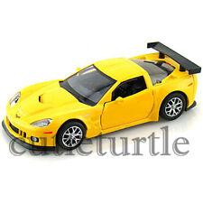 "RMZ City 5"" 2009 Chevrolet Corvette C6 R Diecast Toy Car 1:32 555003 Yellow"