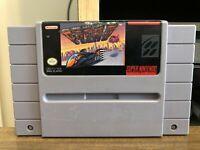 F-ZERO Super Nintendo SNES Game TESTED Working & AUTHENTIC