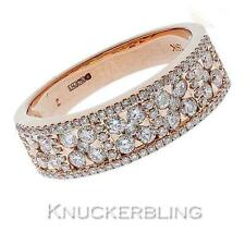 Wedding Band Rose Gold Fine Diamond Rings