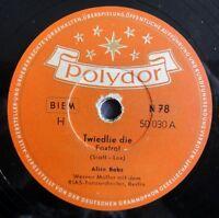 "Alice Babs - Twiedlie die - Dong-Dingeldang - Polydor - /10"" 78 RPM"