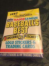 1987  Fleers Limited Edition Baseball Best