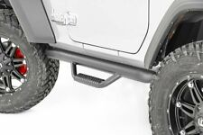 fits Rough Country Jeep Wheel to Wheel Nerf Steps 18-20 JL Wrangler 2-Door