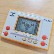 "Nintendo / Game Watch ""FLAGMAN"" Used Operation OK! Vintage Super Rare Japan LTD"