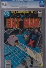 BATMAN #298 CGC 9.6 NM+ APR 1978 OFF-WHITE to WHITE Pages  CRIMSON COFFIN