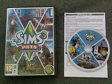 Les Sims 3 Pets Expansion Pack PC DVD ROM/MAC