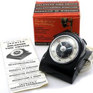 Johnson Smiths Darkroom Enlarger Timer & Switch - Boxed - UK seller