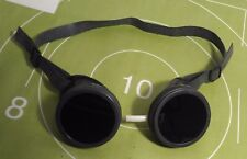 Vintage welding glasses Steampunk goggle Ussr rubber strap