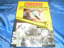 CHRONIK zur Geschichte der GST 1952 - 1984 , Militärverlag der DDR , 1.Auflage