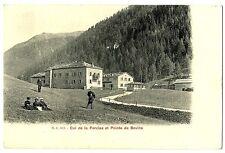 CPA Suisse lémanique Col de la Forclaz et pointe Bovine animé