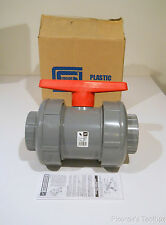 "​New Spears 3"" CPVC True Union Socket Ball Valve EPDM O-Ring, Sch 80, 2322-030C"