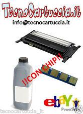 Kit di Ricarica Toner per Samsung CLP 315 W CLT K4092 S Nero con Chip Reset