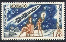 Monaco 1964 Rocket/Space/Pyramids/StampEx 1v (n32320)